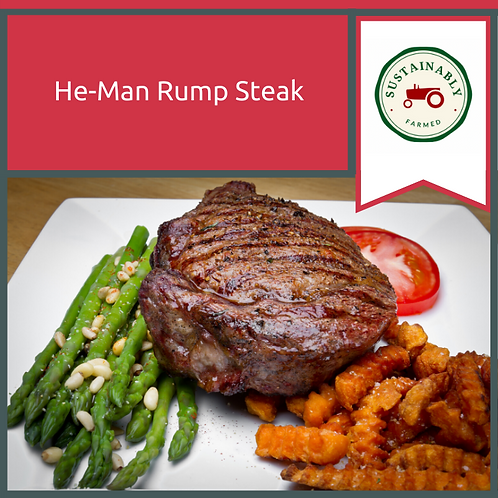 28 oz He-Man Rump Steak