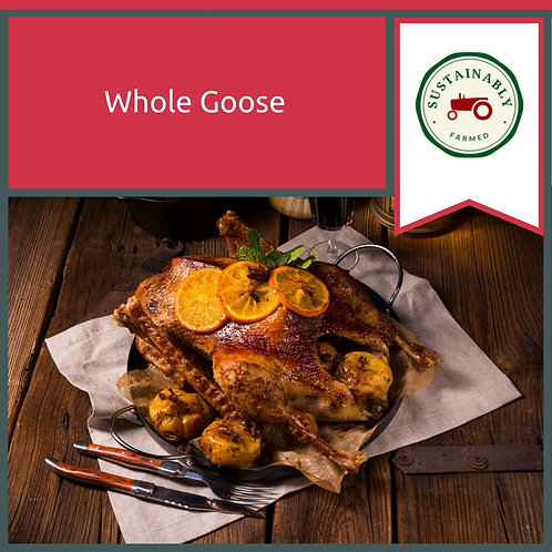 Whole Goose 4 kg Minimum Weight