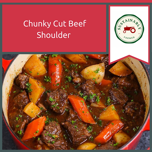 Chunky Cut Beef Shoulder 1.8 kg