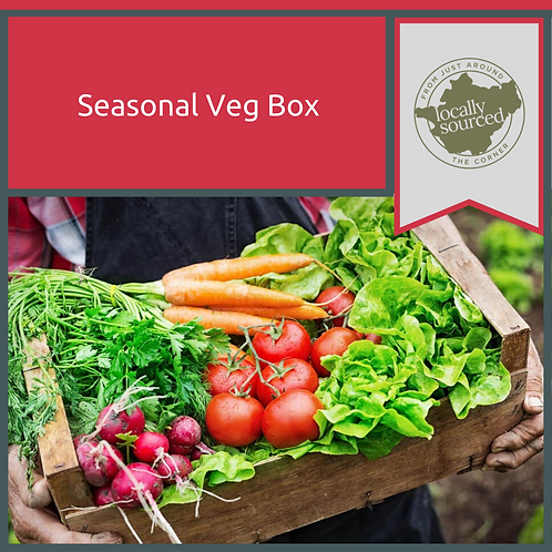 Seasonal Veg Box - Click and Collect or Local Delivery Only