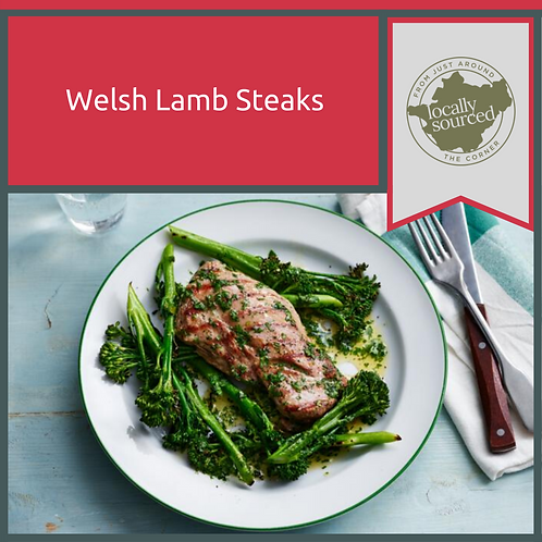 Minted Welsh Lamb Steaks