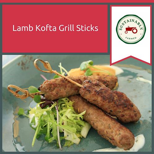 10 x Lamb Kofta Grill Sticks