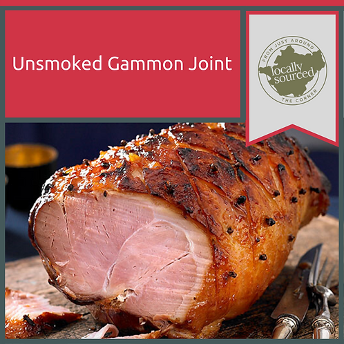 Unsmoked Gammon Joint 2kg