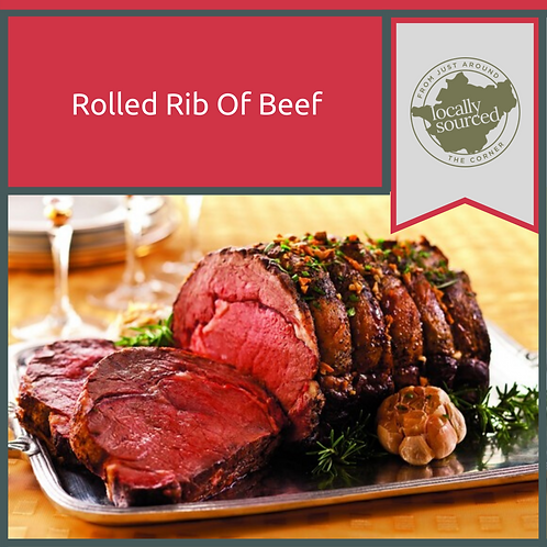 Rolled Rib Of Beef