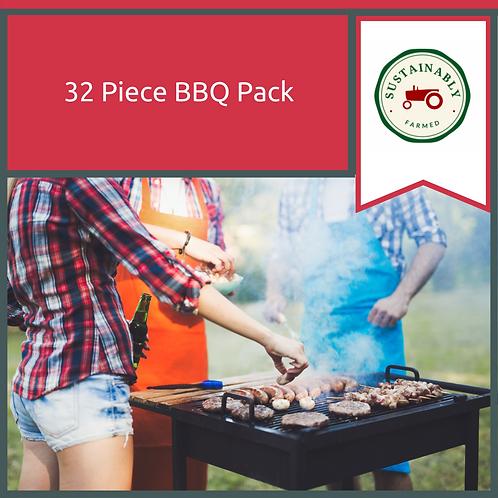 32 Piece BBQ Pack