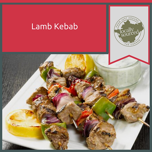 Homemade Lamb Kebabs x 5