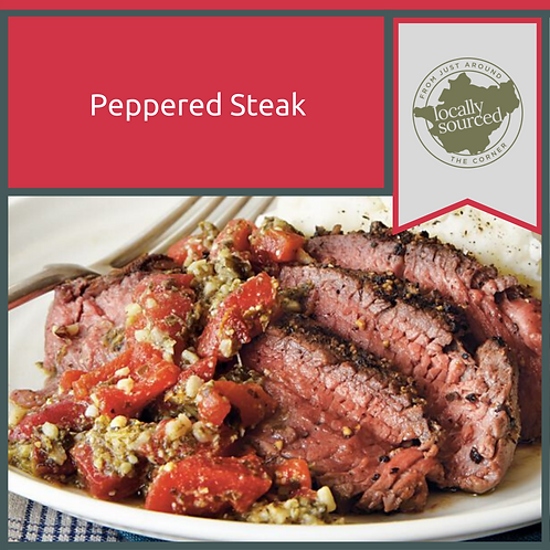 Peppered Steaks 2 x 8oz