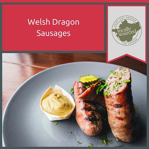 Welsh Dragon Sausages 1 kg