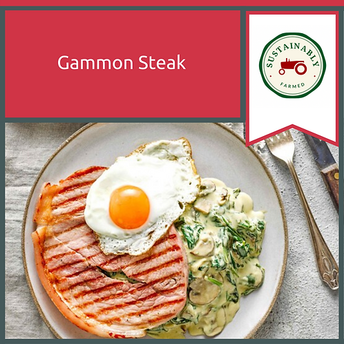 16 oz Gammon Steak