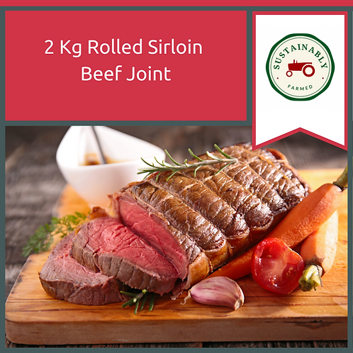 2 kg Rolled Sirloin Beef Joint