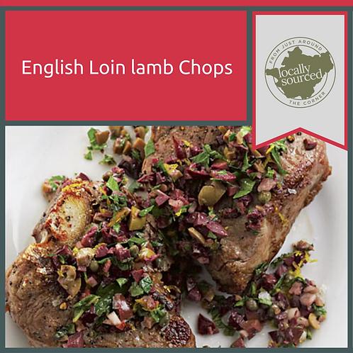 English Loin Lamb Chops x 8