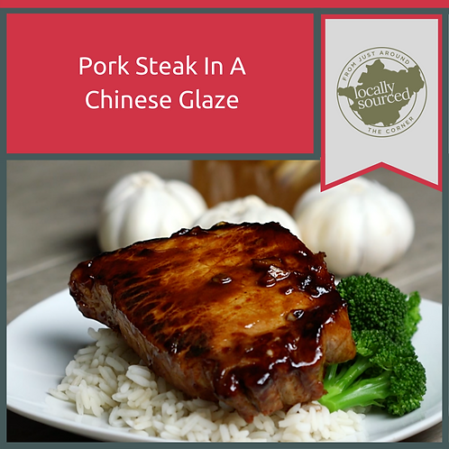 Pork Steaks With Chinese Glaze 600g