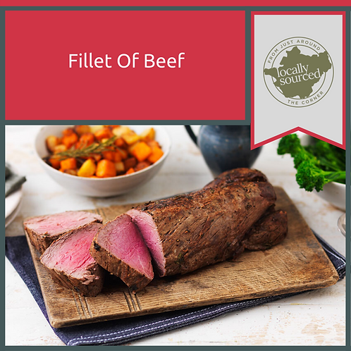 Local Fillet Of Beef 4 lbs +