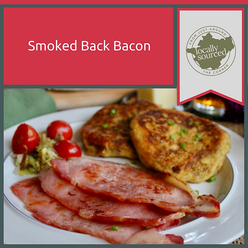 Our Own Smoked Back Bacon 454gm Minimum