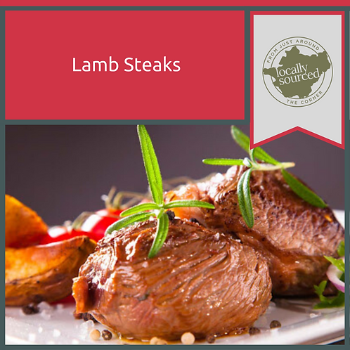 Minted English Lamb Steaks