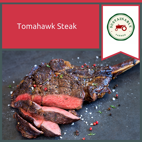 5 x 32 oz Mega Tomahawk Steak