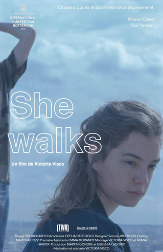 "She Walks winner of ""Best Student Film – Albert R Broccoli Award"""