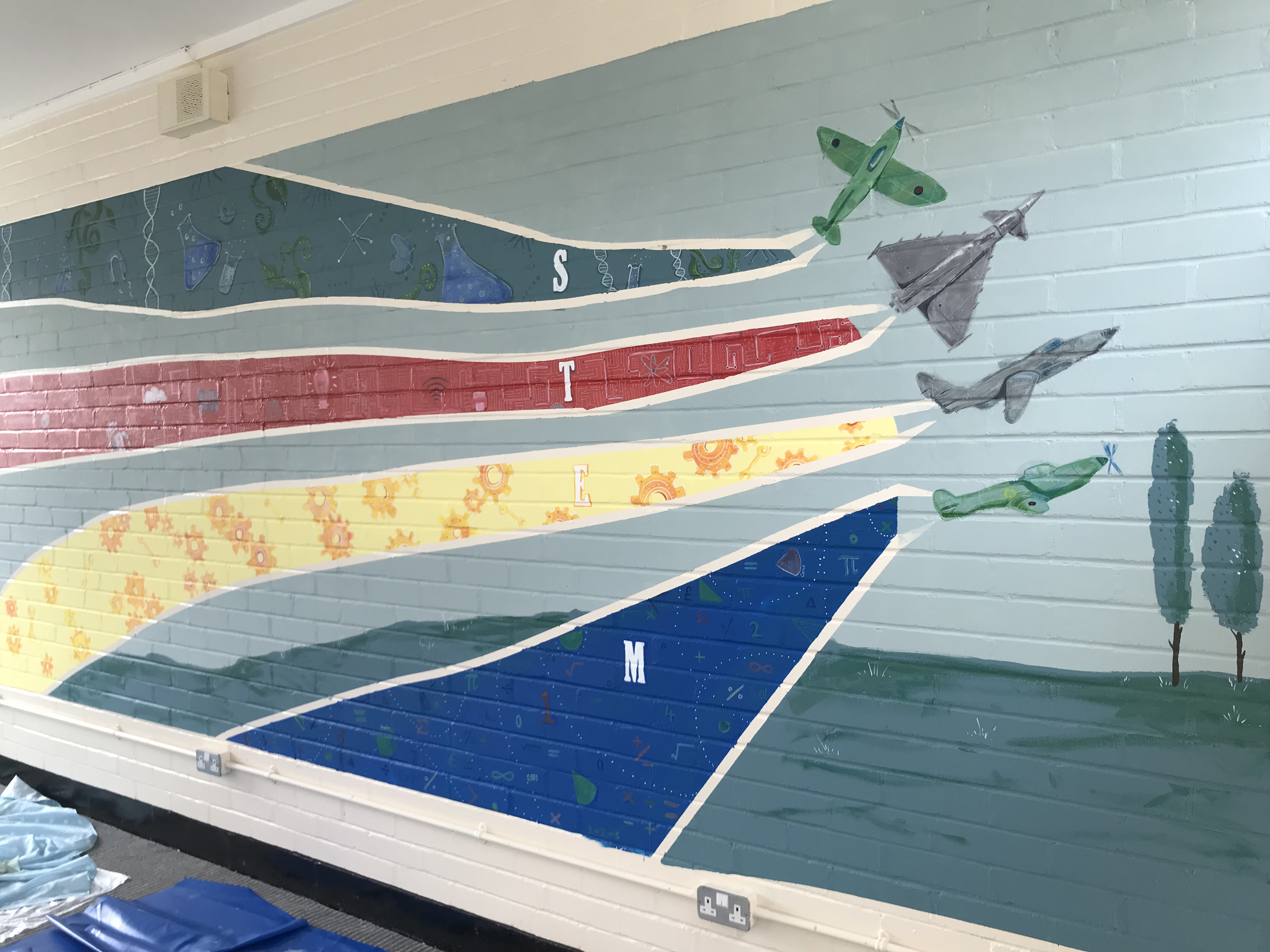RAF mural