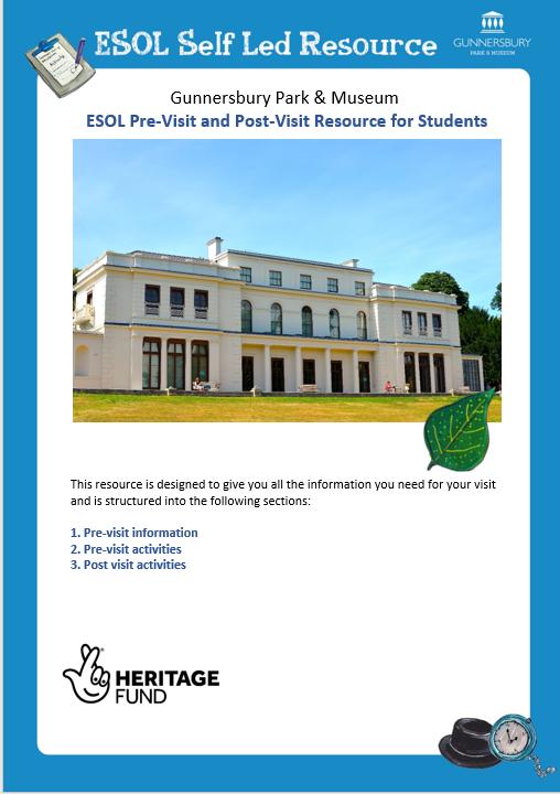 Gunnerbury Park and Museum ESOL PACK