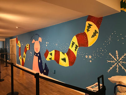 Kipper Mural