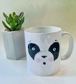 Panda eyes mug
