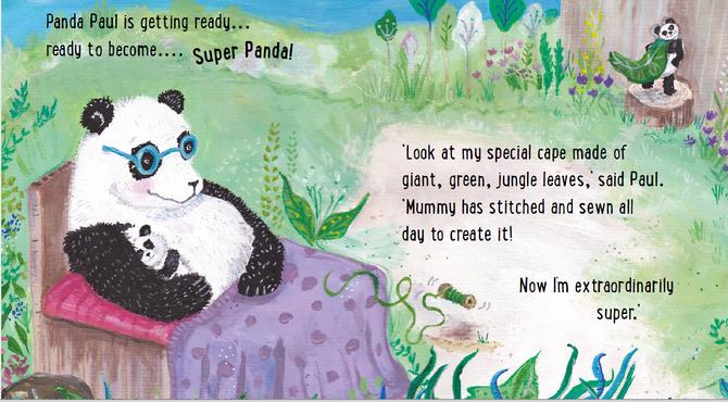 Super Panda Mummy