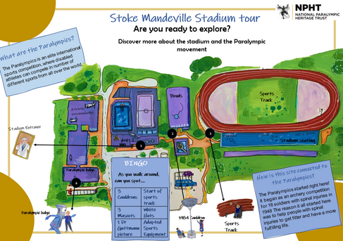 National Paralympics Map and Trail