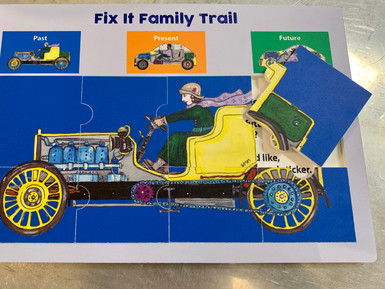 Car jigsaw trail