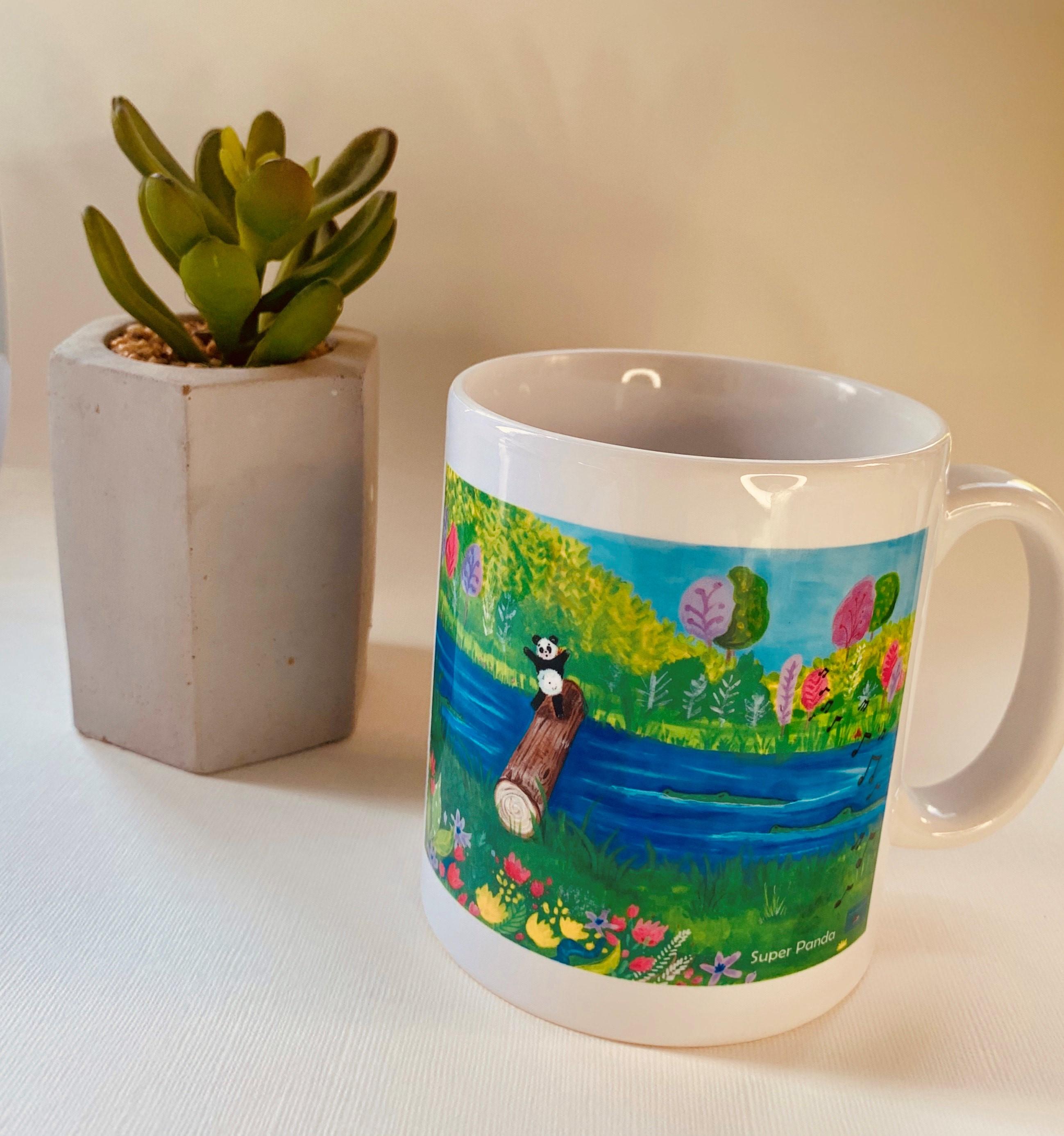 Log bridge mug