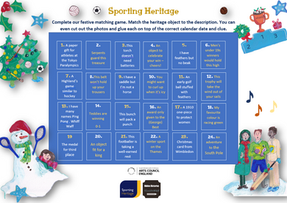 Sporting Heritage 'Match It' game