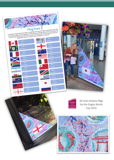 Rugby World Cup Flag Trail