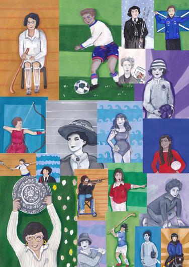 Female sporting Heroes - illustrations.p