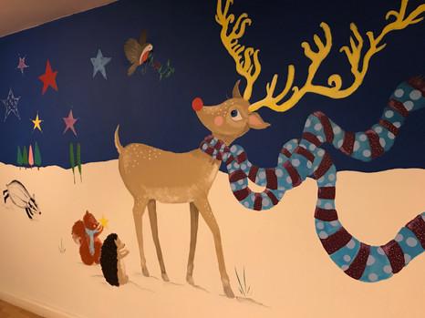 Christmas mural at the MAC Birmingham.jp