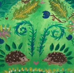 headgehog pattern