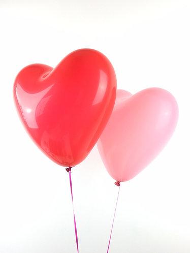 12-inch Heart Balloons