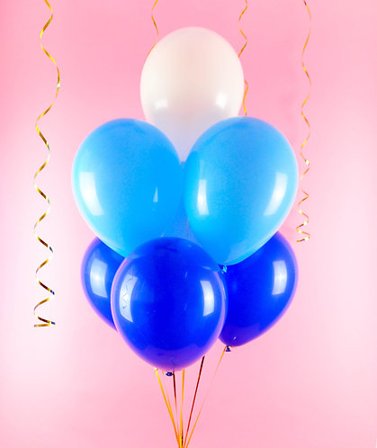 Blue Ombre Balloons