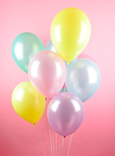 Pearly Pastel Party Balloons