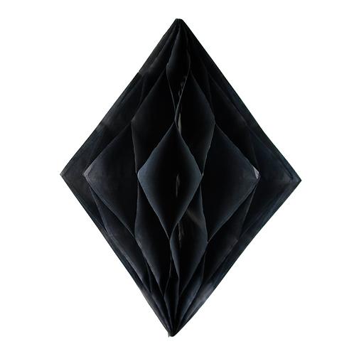 Diamond Honeycomb - Black