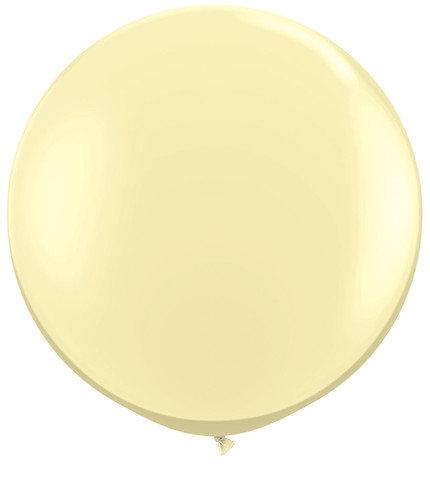 Ivory Silk Jumbo Balloon