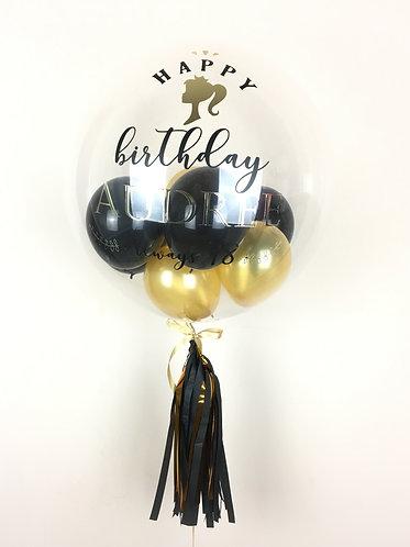 "24"" Personalised Classic Balloon /w Mini Balloons"