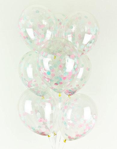 Cloud Nine Confetti Balloon Pack