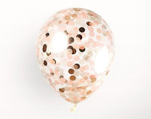 Confetti Balloon - Blush!
