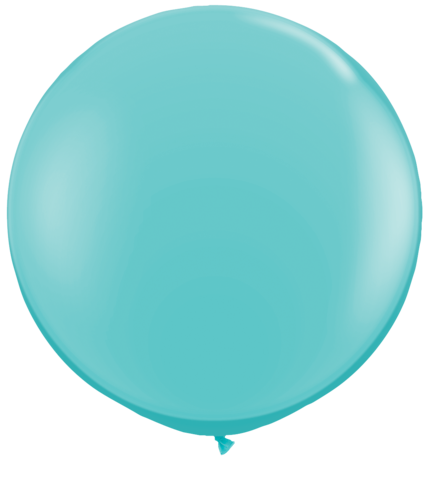 Carribean Blue Jumbo Balloon
