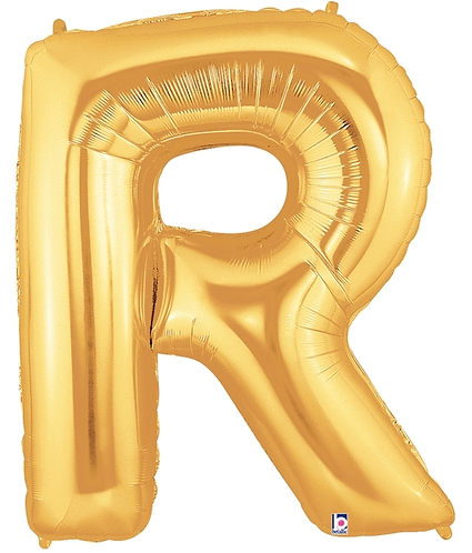 Letter 'R' in Gold