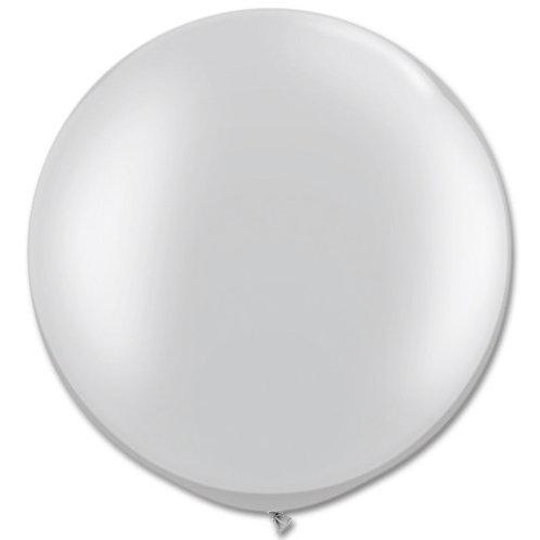 Silver Jumbo Balloon