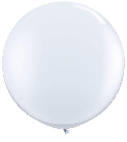 White Jumbo Balloon