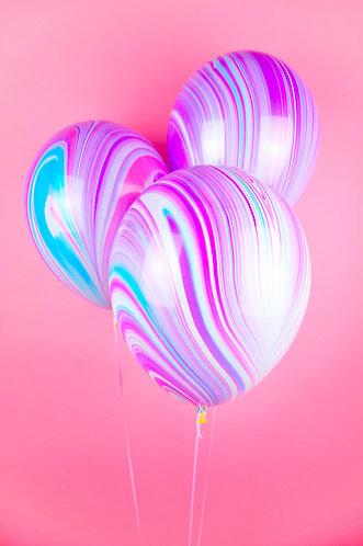 Lollipop Marble Balloons