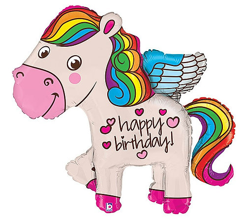 Happy Birthday Rainbow Pegasus