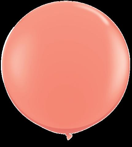Coral Jumbo Balloon
