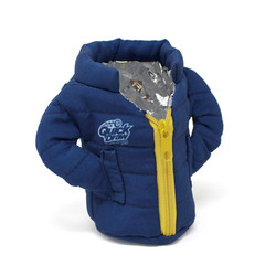 Puffy Jacket Insulated Can & Bottle Coolie